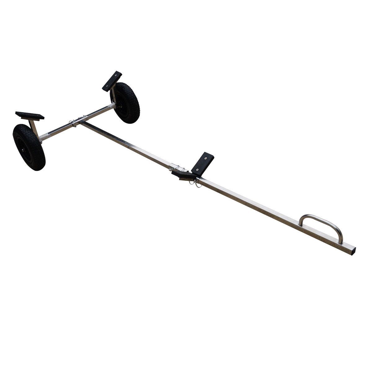 Stainless Steel Boat Launching Wheels Hand Dolly for Small Inflatable boat Trailer by BRIS