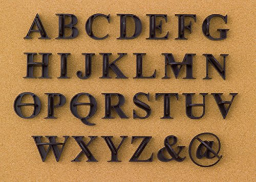 Press In Letters Stone Concrete Stamps - Uppercase Traditional (Stone Letters)
