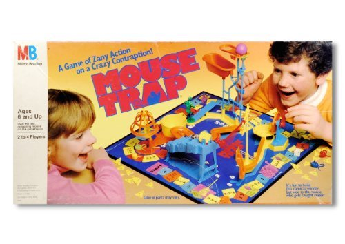 Mouse Trap Board Game 1986 Edition]()