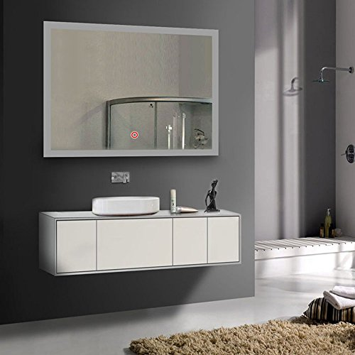 Federation Vanities For Bathrooms: DECORAPORT 36 Inch * 28 Inch Horizontal LED Wall Mounted