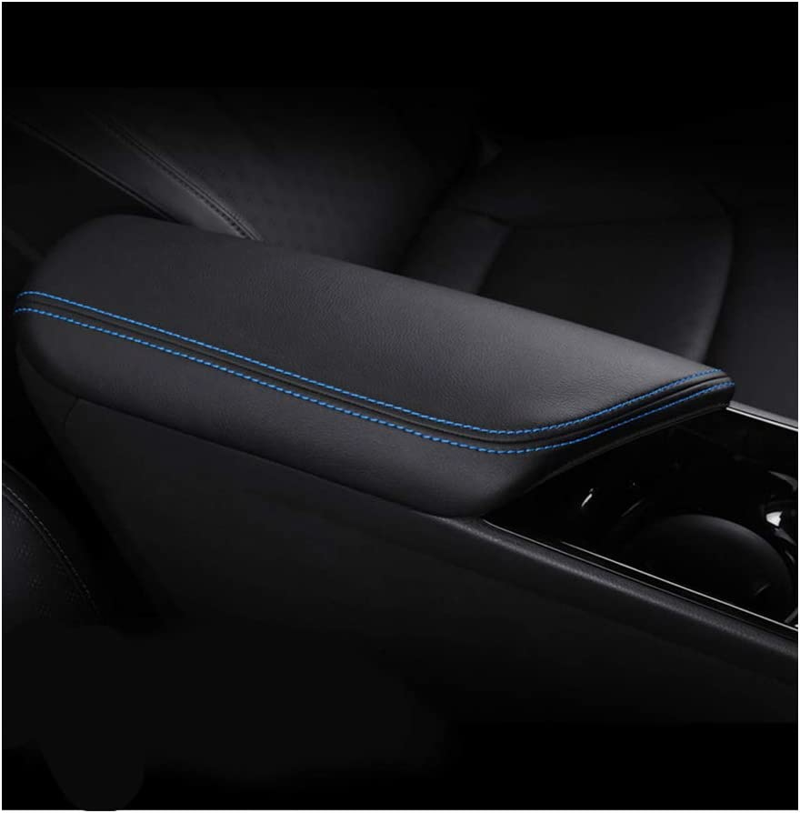 YEE PIN Armrest Cover for Toyot a CHR 2016-2019 Central Armrest Cover Leather Protective Armrest Protection Centre Console Accessories