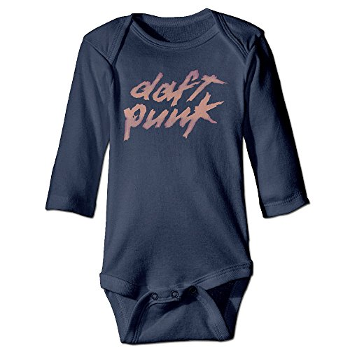 OULIKE Daft Punk Logo Long Sleeve Baby Climbing Clothes, used for sale  Delivered anywhere in Canada