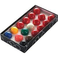 POWERGLIDE - Bolas de Snooker (48 mm, 17