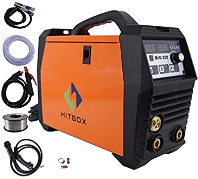 MIG Welder Inverter MIG MAG ARC LIFT TIG ARC Welding Machine Gas Gasless Flux Cored Wire Solid Core Wire Welder Ready to Use