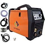 MIG Welder Inverter 200Amp 220V DC MIG MAG ARC LIFT TIG ARC Welding Machine Gas Gasless Flux Cored Wire Solid Core Wire Welder Ready to Use