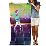 Super Absorbent Beach Towel Just Dance Polyester Velvet Beach Towels 31.551.2 Inch