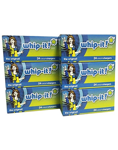 Whip-it! Whipped Cream Chargers, 24 Pack, Case Of 600 by Whip-it!