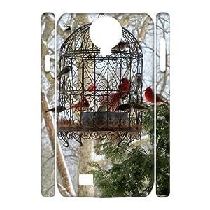 Bird Design Cheap Custom 3D Hard Case Cover for SamSung Galaxy S4 I9500, Bird Galaxy S4 I9500 3D Case
