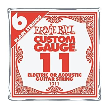 Amazon Daddario Pl010 5 Plain Steel Guitar Single String 010