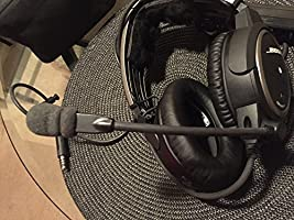 Bose A20 Aviation Headset (Battery-powered, NO Bluetooth, Electret mic, Straight cord, Twin plug) (Discontinued by Manufacturer)