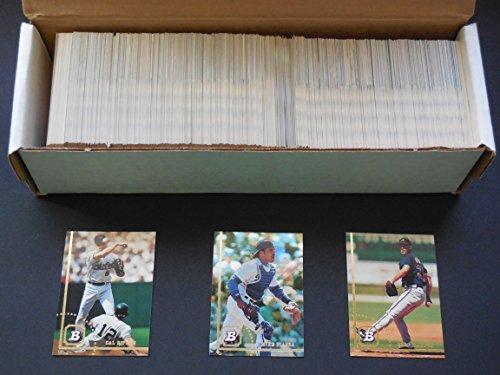 (1994 Bowman Baseball Complete Set 1-682****Bonds) (McGwire) Ripken) (Maddux) and More)