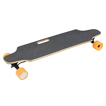 a6bf303d364b DYHQQ 35 quot  Portable Electric Skateboard with Wireless Handheld Remote  Control for Adults   Teen
