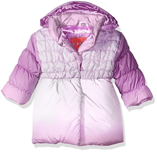 Gathered Robe (Wippette Baby Girls' Bubble Jacket, Purple, 18 Months)