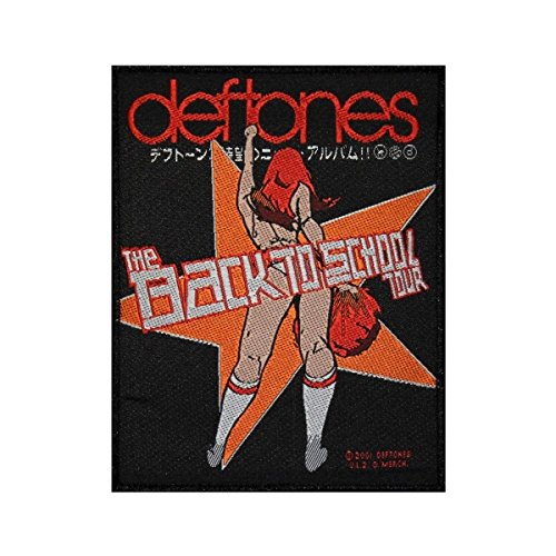 Deftones The Back To School Tour Patch Mini Maggit Jacket Woven Sew On Applique by Mia_you