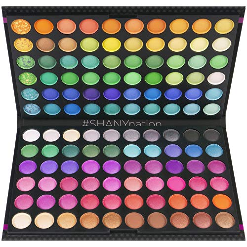 SHANY Eyeshadow Palette, Bold and Bright Collection, Vivid, 120 Color