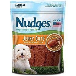 Nudges Jerky Cuts Dog Treats, Duck, 10 Ounce