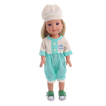 Blue and mint green dolls cardigan
