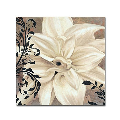 Winter White II by Color Bakery, 18x18-Inch Canvas Wall Art