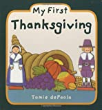 My First Thanksgiving, Tomie dePaola, 0448448572
