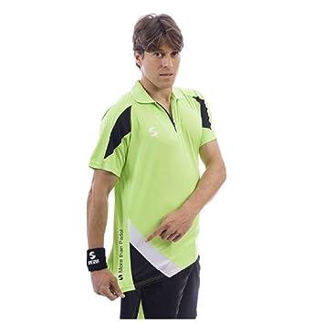 Softee - Polo Padel K3 Color Verde/Negro/Blanco Talla S ...