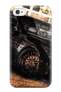 High Quality Michael Volpe Metallic Black Car Skin Case Cover Specially Designed For Iphone - 4/4s