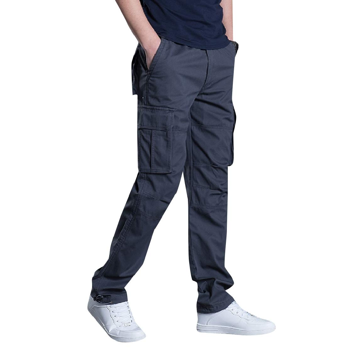 YUNY Men Pockets Collection Baggy Outdoor Juniors Plus Size Pants 1 2XL