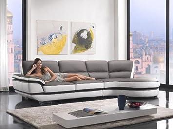 Amazon.com: Divani Casa k8456 – Moderno eco-leather ...