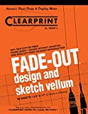 Clearprint 1000H Design Vellum Pad with Printed Fade-Out 4x4 Grid, 16 lb, 100% Cotton, 8-1/2 x 11 Inches, 50 Sheets, Translucent White (10004410)