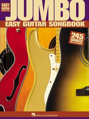 Jumbo Easy Guitar Songbook - 3
