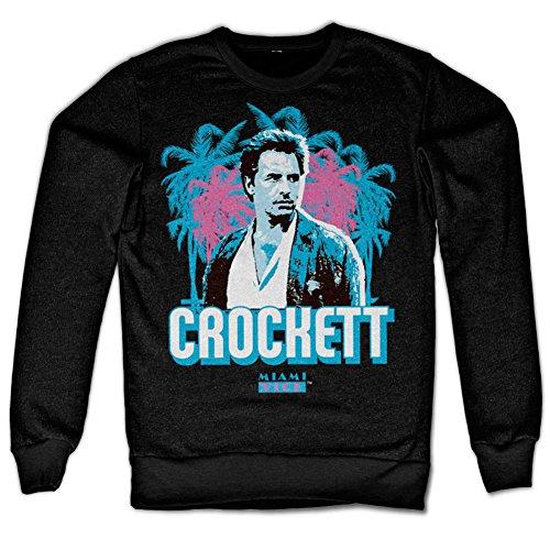 Crockett Palms Sweatshirt (Black)