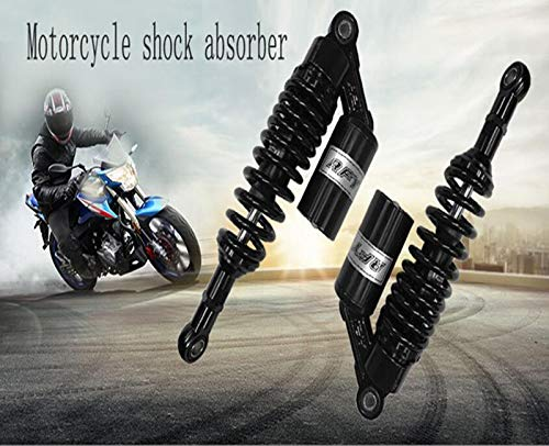 Universal 12 300mm 305mm 1pair spring 8mm rear shock absorber motorcycle for Yamaha ATV off-road vehicle plating plating