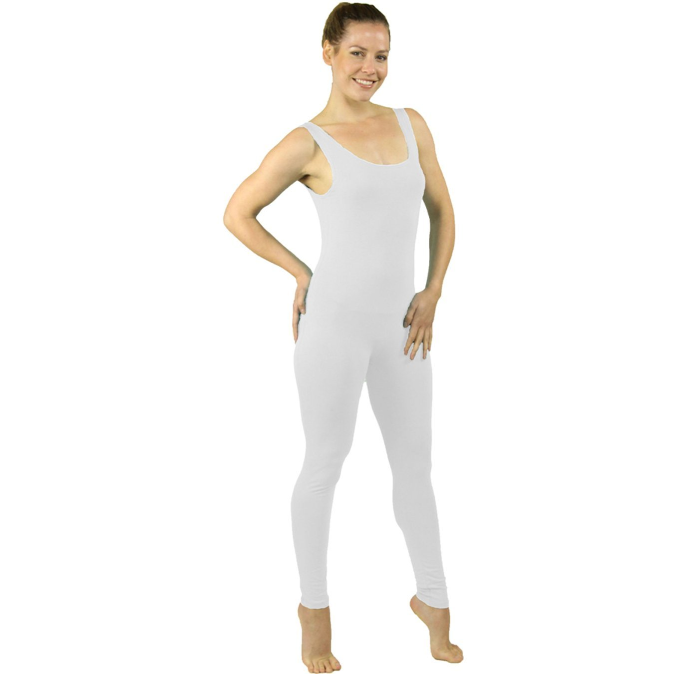 Stretch is Comfort Women's Plus Size Nylon Unitards U3013NYLONU-$P