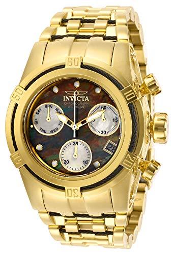 Invicta 27864 Women's Bolt Zeus Yellow Gold Bracelet Chrono Watch ()