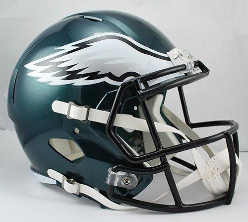 Arizona Cardinals Replica Helmet (NFL Philadelphia Eagles Riddell Full Size Replica Speed Helmet, Medium, Green)