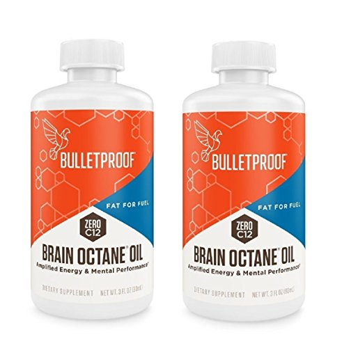 Bulletproof - Wit Octane Oil, Reliable and Quick Source of Energy (3 Ounce) (2 Pack) + 1oz Uben Disposable Supple Measuring Cups,100 Count