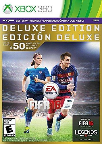 FIFA 16 - Deluxe Edition - Xbox 360 (Xbox 360 Soccer Games)