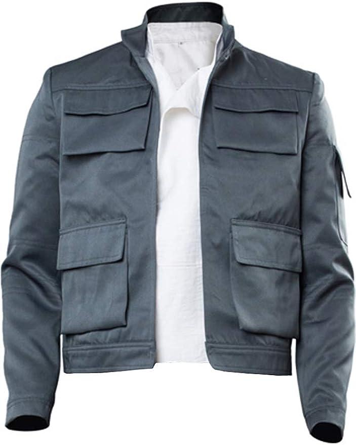 Star Wars Men Han Solo A Uniform Full Set Cosplay Costume Halloween Xmas