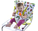 Best Eric Carle High chairs - Eric Carle Travel Baby Harness Chair, Converts Any Review