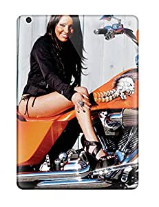 ZippyDoritEduard YjjcJnH584MHclK Case For Ipad Air With Nice Girls And Motorcycles Appearance