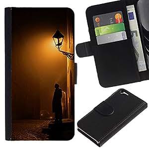 All Phone Most Case / Oferta Especial Cáscara Funda de cuero Monedero Cubierta de proteccion Caso / Wallet Case for Apple Iphone 6 // Cobblestone Yellow Romantic