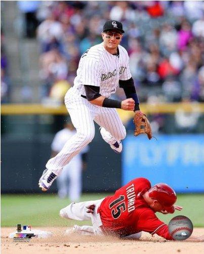 Troy Tulowitzki Colorado Rockies 2014 MLB Action Photo (Size: 16