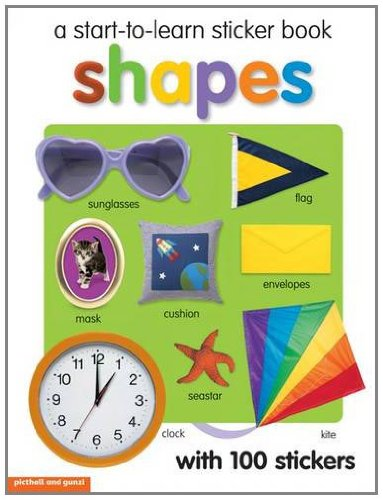 Download Shapes (Start to Learn sticker book) pdf