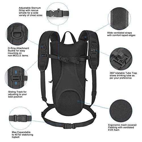 Amazon.com: Unigear Tactical Hydration Packs 1050D - Mochila ...