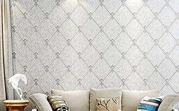 TV Hintergrund Tapeten 3D 3D-Vliesstoff Wohnzimmer Tapete grau ...