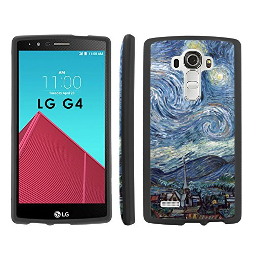 Price comparison product image Starry Night - Mobiflare LG G4 Slim Guard Armor Black Phone Case