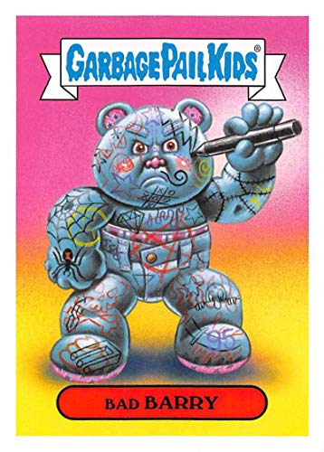 2019 Topps Garbage Pail Kids We Hate the '90s Toys Sticker #15b BAD BARRY Sticker Trading Card