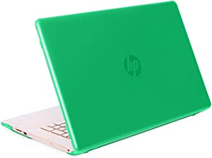 "mCover Hard Shell Case for 17"" HP 17-BY0000 Series (17-BY0000 to 17-BY9999) Notebook PC (NOT Fitting Other HP Pavilion or Envy laptops) - HP-17BY Green"