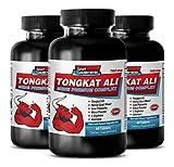 muscle relaxer pills - TONGKAT ALI PREMIUM COMPLEX - longjack pills - 3 Bottle (180 Tablets)