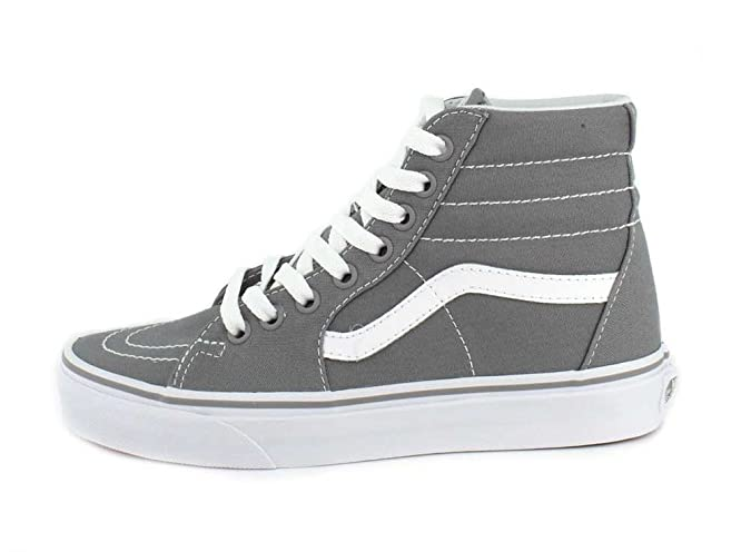Schuhe Sk8-hallo Canvas Frost Grau Mode Skate Sneakers Vans