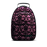 Clarinet Case Backpack - Handmade Beaumont Student Bb Clarinet Bag - Purple Lace